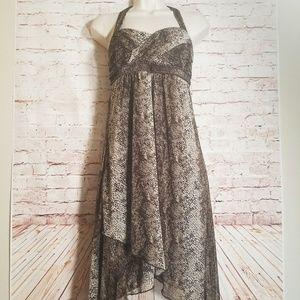 City Triangles | Asymmetrical Halter Dress
